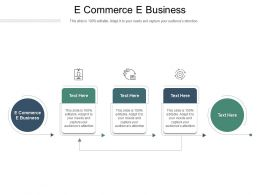 E Commerce E Business Ppt Powerpoint Presentation Slides Inspiration Cpb