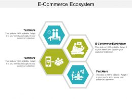 E Commerce Ecosystem Ppt Powerpoint Presentation Icon Grid Cpb