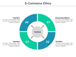 E Commerce Ethics Ppt Powerpoint Presentation Gallery Influencers Cpb