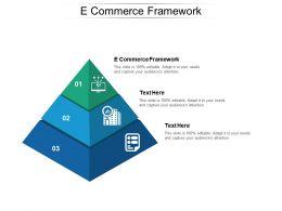 E Commerce Framework Ppt Powerpoint Presentation Model Designs Cpb