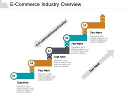 E Commerce Industry Overview Ppt Powerpoint Presentation Infographic Template Rules Cpb