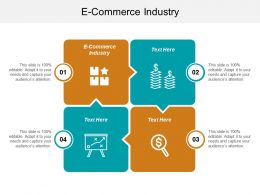 E Commerce Industry Ppt Powerpoint Presentation Infographic Template Designs Cpb