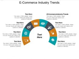E Commerce Industry Trends Ppt Powerpoint Presentation Gallery Backgrounds Cpb