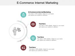 E Commerce Internet Marketing Ppt Powerpoint Presentation Icon Background Designs Cpb