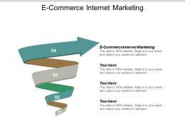 E Commerce Internet Marketing Ppt Powerpoint Presentation Outline Ideas Cpb