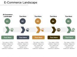 E Commerce Landscape Ppt Powerpoint Presentation File Smartart Cpb