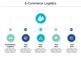 E Commerce Logistics Ppt Powerpoint Presentation Slide Cpb