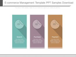 E Commerce Management Template Ppt Samples Download