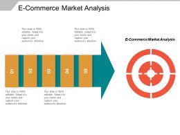 E Commerce Market Analysis Ppt Powerpoint Presentation Inspiration Summary Cpb