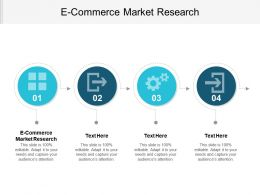 E Commerce Market Research Ppt Powerpoint Presentation File Show Cpb