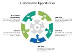 E Commerce Opportunities Ppt Powerpoint Presentation Infographic Template Professional Cpb