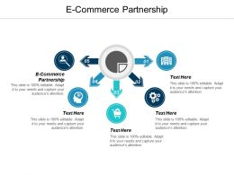 E Commerce Partnership Ppt Powerpoint Presentation Infographic Template Background Cpb