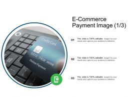 E Commerce Payment Image Finance Ppt Powerpoint Presentation Professional Diagrams