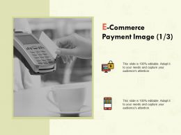 E Commerce Payment Image Marketing Ppt Powerpoint Infographics