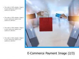 E Commerce Payment Image Marketing Ppt Powerpoint Presentation File Backgrounds