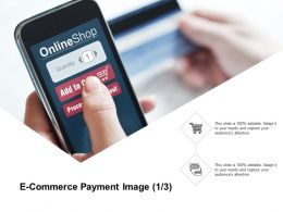 E Commerce Payment Image Marketing Ppt Powerpoint Presentation Icon Influencers