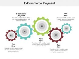 E Commerce Payment Ppt Powerpoint Presentation Inspiration Example File Cpb