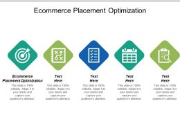 E Commerce Placement Optimization Ppt Powerpoint Presentation Gallery Introduction Cpb