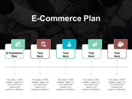 E Commerce Plan Ppt Powerpoint Presentation Gallery Aids Cpb