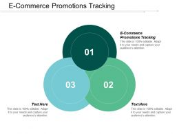 E Commerce Promotions Tracking Ppt Powerpoint Presentation Gallery File Formats Cpb