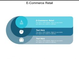 E Commerce Retail Ppt Powerpoint Presentation Layouts Ideas Cpb