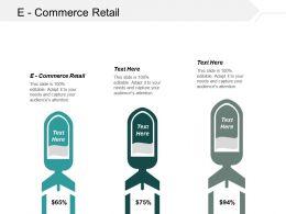 E Commerce Retail Ppt Powerpoint Presentation Portfolio Graphics Cpb