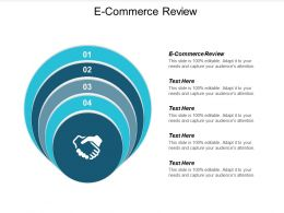 E Commerce Review Ppt Powerpoint Presentation Styles Topics Cpb
