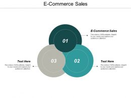 E Commerce Sales Ppt Powerpoint Presentation Ideas Graphics Download Cpb