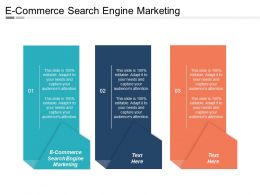 E Commerce Search Engine Marketing Ppt Powerpoint Presentation File Display Cpb