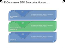 E Commerce Seo Enterprise Human Resources Personal Growth Success Cpb