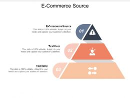 E Commerce Source Ppt Powerpoint Presentation File Graphics Template Cpb