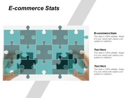 E Commerce Stats Ppt Powerpoint Presentation Inspiration Example Cpb