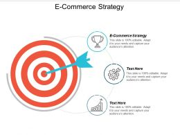 E Commerce Strategy Ppt Powerpoint Presentation Gallery Deck Cpb