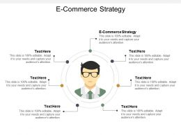 E Commerce Strategy Ppt Powerpoint Presentation Show Mockup Cpb
