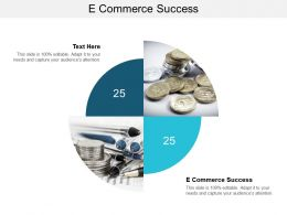 E Commerce Success Ppt Powerpoint Presentation File Objects Cpb
