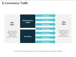 E Commerce Traffic Ppt Powerpoint Presentation Icon Show Cpb