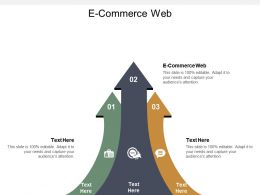 E Commerce Web Ppt Powerpoint Presentation Slides Examples Cpb