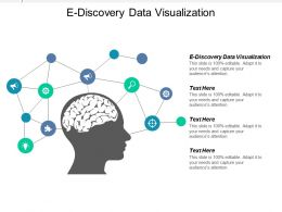 E Discovery Data Visualization Ppt Powerpoint Presentation Gallery Icon