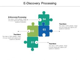 E Discovery Processing Ppt Powerpoint Presentation Gallery Ideas