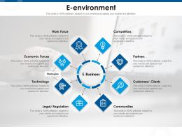 E Environment Work Force M986 Ppt Powerpoint Presentation Infographic Template Demonstration
