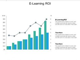 E Learning Roi Ppt Powerpoint Presentation Gallery Infographics