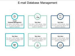 E Mail Database Management Ppt Powerpoint Presentation Gallery Examples Cpb