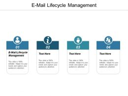 E Mail Lifecycle Management Ppt Powerpoint Presentation Gallery Rules Cpb