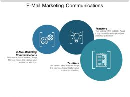 E Mail Marketing Communications Ppt Powerpoint Presentation Gallery Samples Cpb