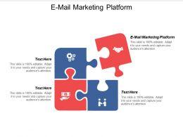 E Mail Marketing Platform Ppt Powerpoint Presentation Gallery Layouts