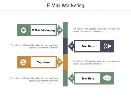 E Mail Marketing Ppt Powerpoint Presentation Background Cpb