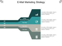 E Mail Marketing Strategy Ppt Powerpoint Presentation Portfolio Model Cpb