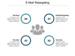 E Mail Retargeting Ppt Powerpoint Presentation Gallery Template Cpb