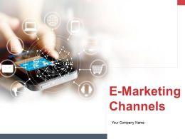 E Marketing Channels Powerpoint Presentation Slides