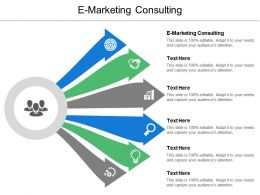 E Marketing Consulting Ppt Powerpoint Presentation Icon Cpb